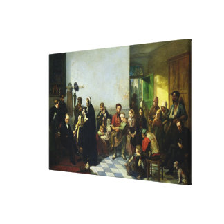 The Doctor for the Poor Canvas Print