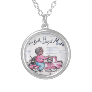 The Doctor Silver Plated Necklace