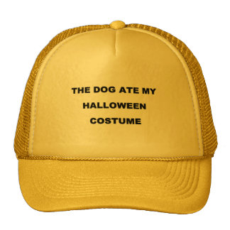 The Dog Ate My Halloween Costume! Cap