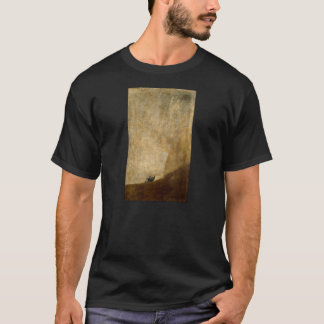 The Dog (Black Paintings) by Francisco Goya 1820 T-Shirt