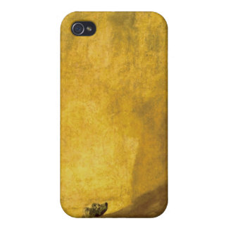 The Dog, by Francisco de Goya iPhone 4 Cover