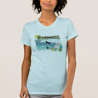 The Dog Days of Summer at the Lake T-shirts