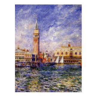 The Doges' Palace by Pierre-Auguste Renoir Postcard