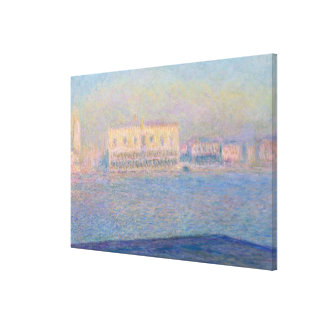 The Doge's Palace Seen from San Giorgio Maggiore Canvas Print