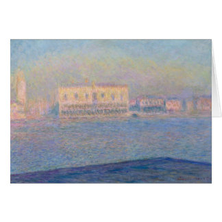 The Doge's Palace Seen from San Giorgio Maggiore Card
