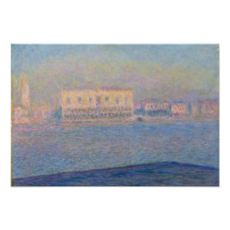 The Doge's Palace Seen from San Giorgio Maggiore Poster
