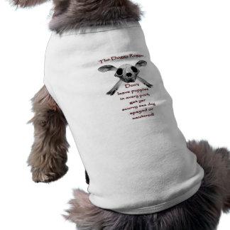 The Doggy Rogger Sleeveless Dog Shirt