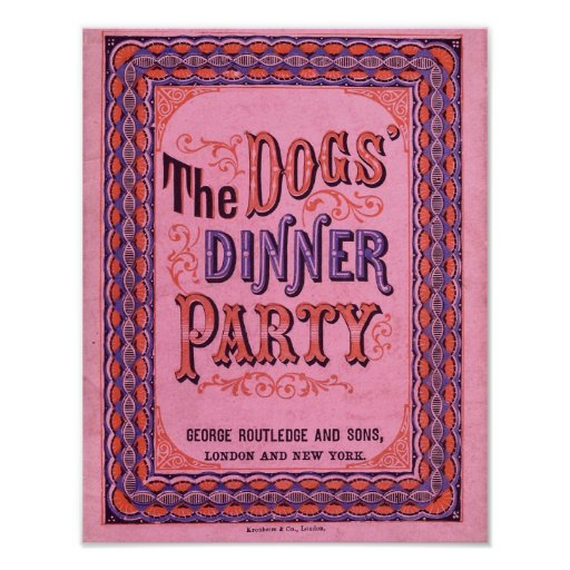The Dog's Dinner Party Poster