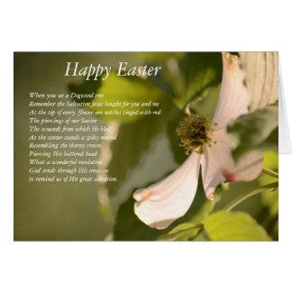 The Dogwood Flower Greeting Card