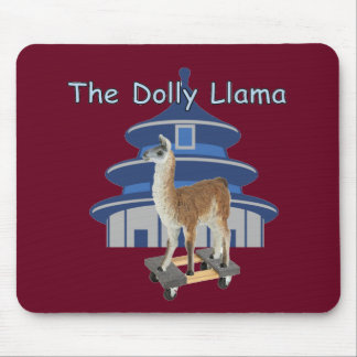 The Dolly Llama Mouse Pad