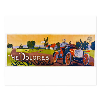 The Dolores Automobile Postcard
