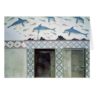 The Dolphin Frescoes in the Queen's Bathroom Card