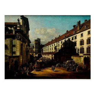 The Dominican Church in Vienna  Bernardo Bellotto Postcard