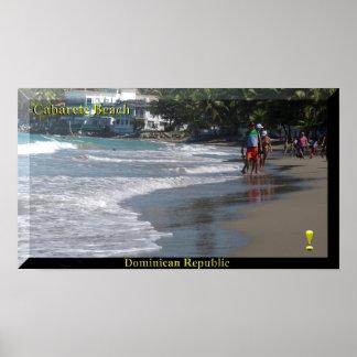 The Dominican Republic Cabarete Beach Poster