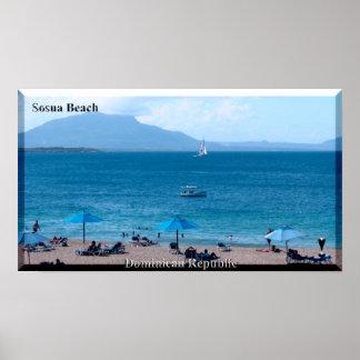 The Dominican Republic Sosua Beach Poster! Poster