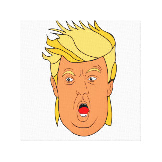 The Donald Canvas Print