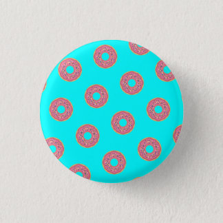 The Donut Pattern I 3 Cm Round Badge