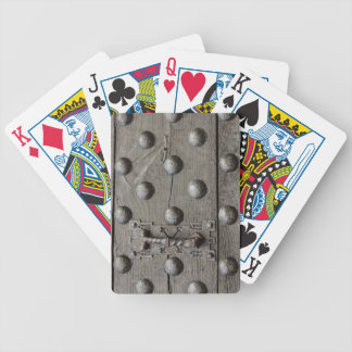 the door of a castle   Bicycle Poker Playing Cards