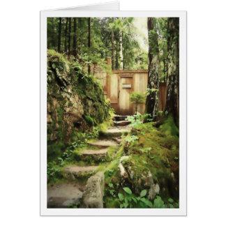 The Door to Eliot Mountain Card