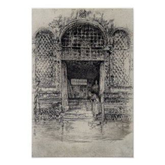 The Doorway by James Abbott McNeill Whistler Print