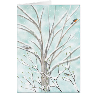 The Dove Tree Card