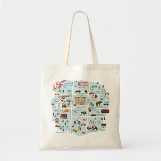 The Downtown McKinney Texas Simple Tote