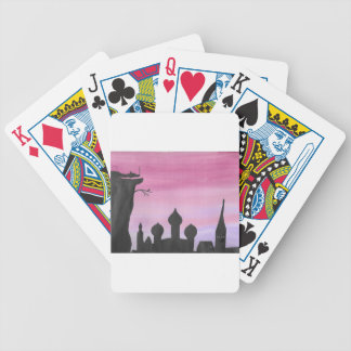 The Dragon At Dawn Bicycle Playing Cards