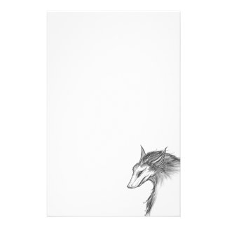 The Dragon Fox Personalised Stationery