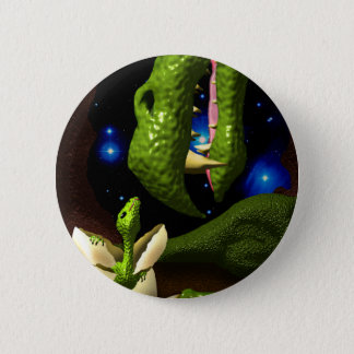 The Dragon Hatchling 6 Cm Round Badge