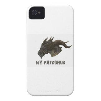 THE DRAGON IS MY PATRONUS DESIGNS Case-Mate iPhone 4 CASES