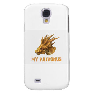THE DRAGON IS MY PATRONUS DESIGNS GALAXY S4 COVER