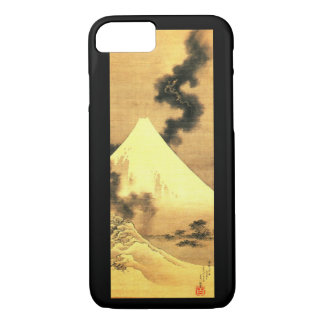 The Dragon of Smoke Escaping from Mt Fuji by Katsu iPhone 7 Case