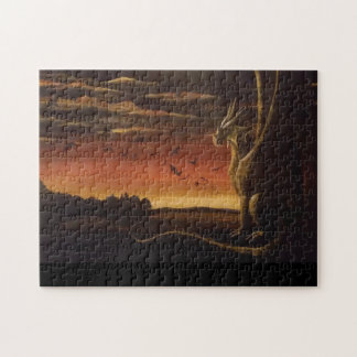 """""""The Dragon"""" Puzzle-by Bethany Boyd. Jigsaw Puzzle"""