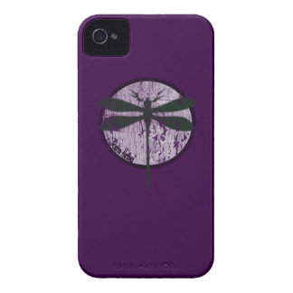 The Dragonfly in purple iphone 4 iPhone 4 Case
