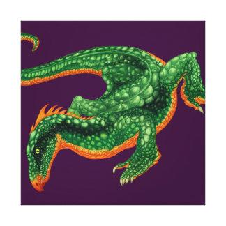 The Dragoon Canvas Prints
