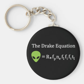 The Drake Equation Key Ring