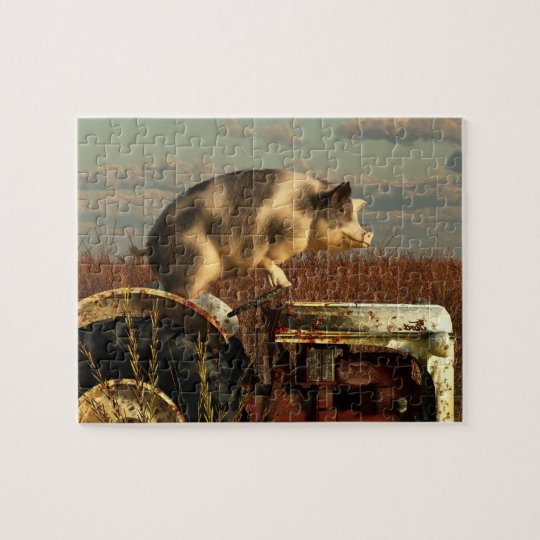 The Dream of a Pig Jigsaw Puzzle