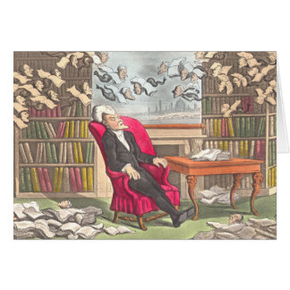 The Dream of Dr. Syntax by Thomas Rowlandson -Card Card