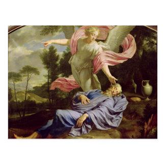 The Dream of Elijah, 1650-55 Postcard