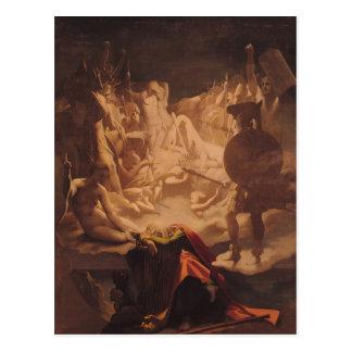 The Dream of Ossian, 1813 Postcard