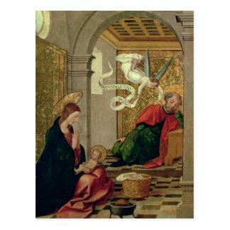 The Dream of St. Joseph, c.1535 Postcard