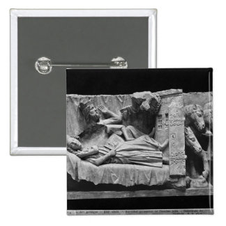 The dream of the Magi, from the Cathedral 15 Cm Square Badge