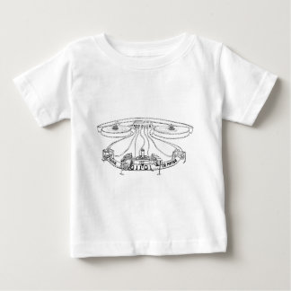 The Dream of the Turing Machine Baby T-Shirt