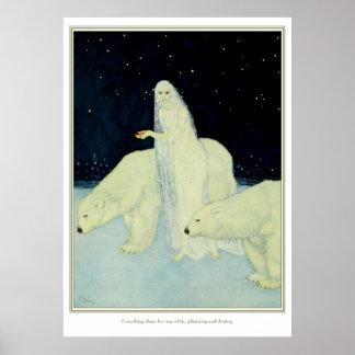 The Dreamer of Dreams: White, Glistening & Shining Poster