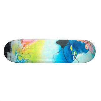 The Dreaming - Abstract Art Skateboard