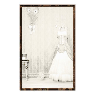 The Dressing Room Steampunk Gothic Stationery