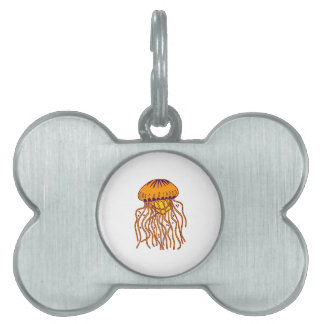THE DRIFTER IS PET NAME TAG