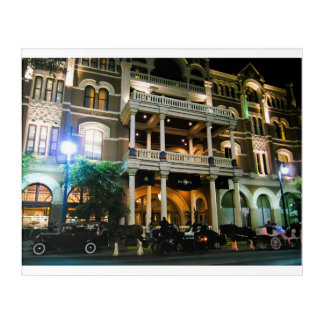 The Driskill Haunted Hotel Austin Texas Acrylic Print