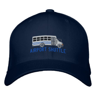 The Driver Custom Mini Bus Shuttle Embroidery Embroidered Hat