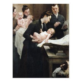 The Drop of Milk in BellevilleDoctor Variot's Postcard